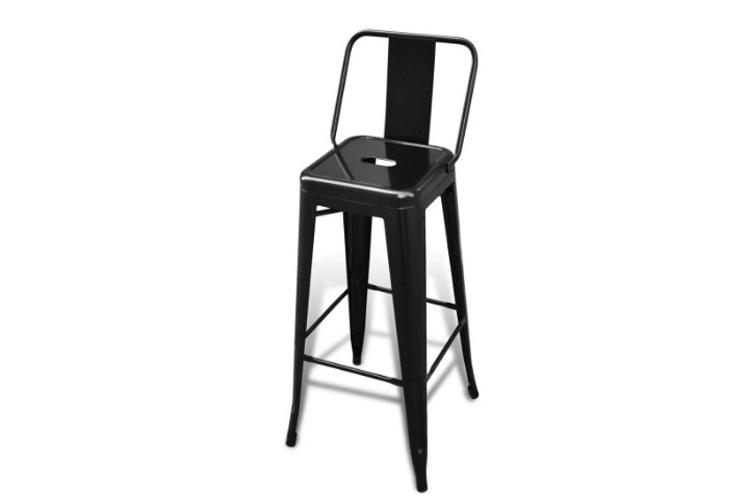 vidaxl 240929 lot de 2 chaises de bar hautes test de la r daction. Black Bedroom Furniture Sets. Home Design Ideas